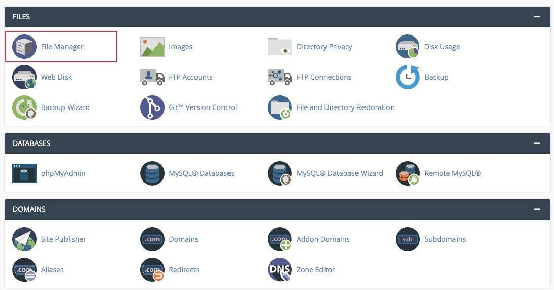 htaccess redirect using Cpanel